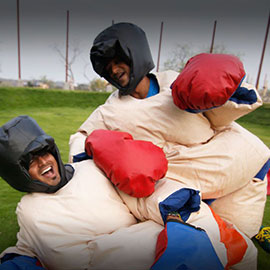 sumo suit fight