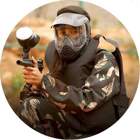 paintball war game at ramoji film city